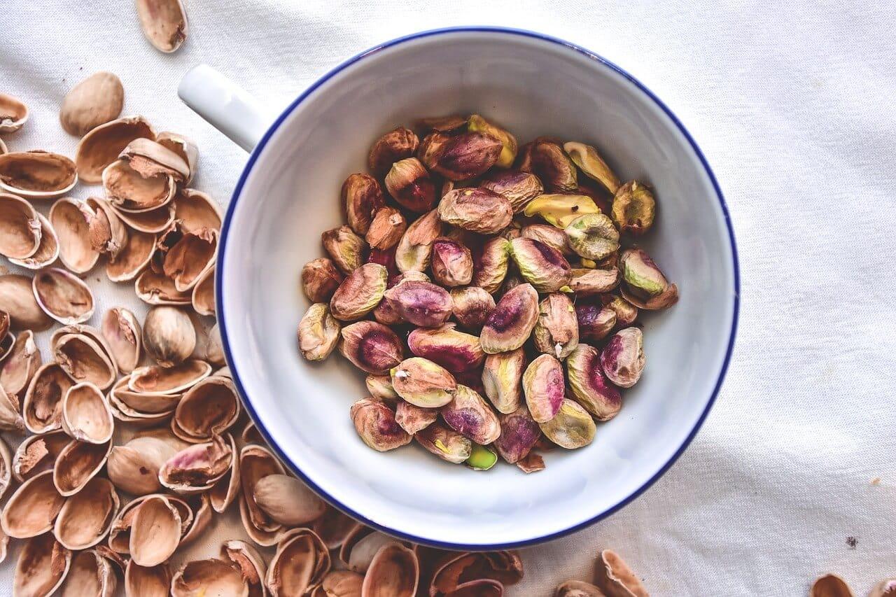 Pistachio nuts to increase your libido