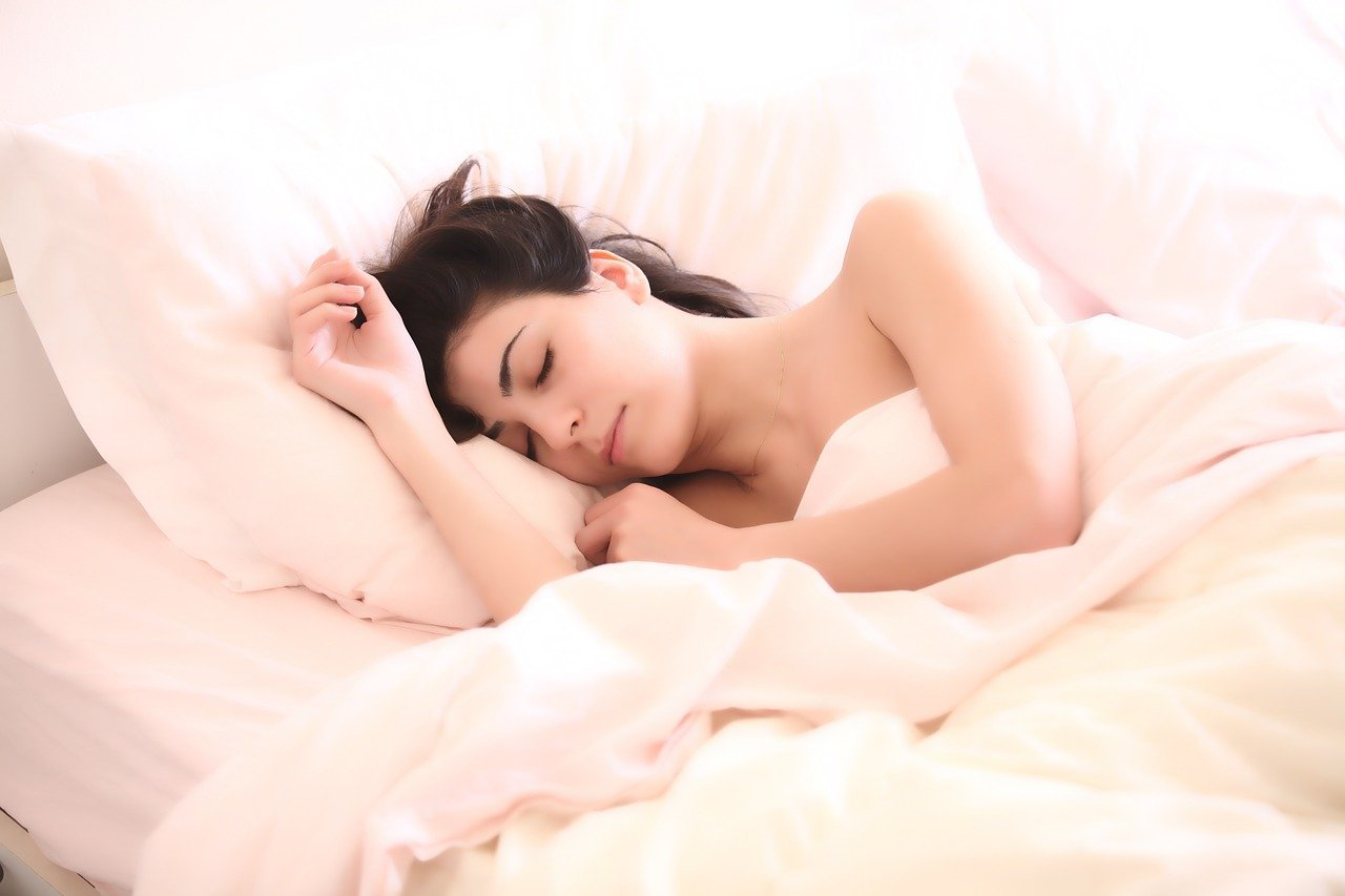 woman without stress than to health benefits of sex
