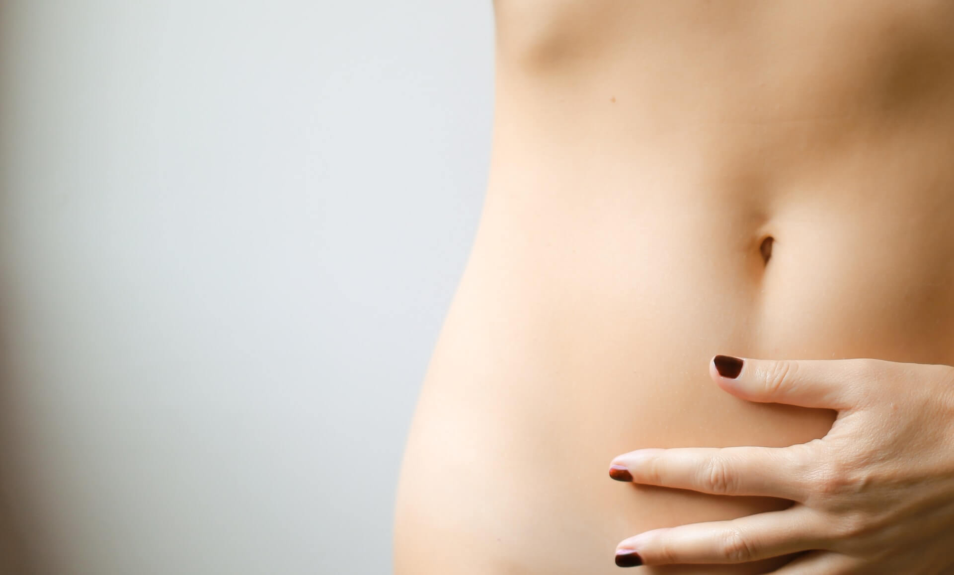 Gut health woman