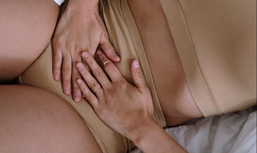 A woman with endometriosis