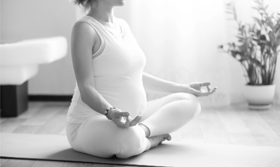 controlled breathing during pregnancy